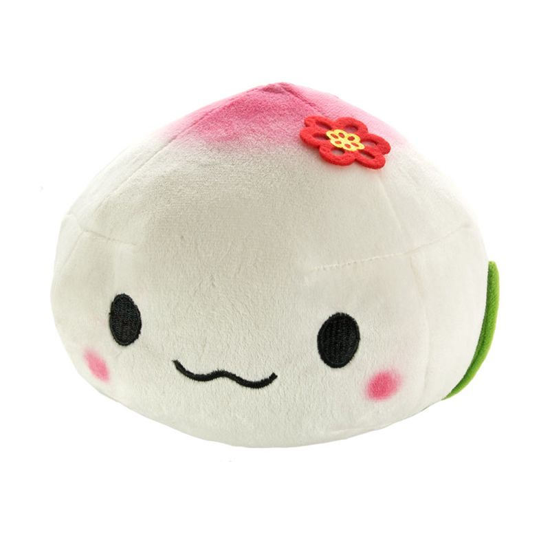 Kadounik Steamed Jam-Bun Plush Juju-chan Doll as Cushion Pillow Boneka