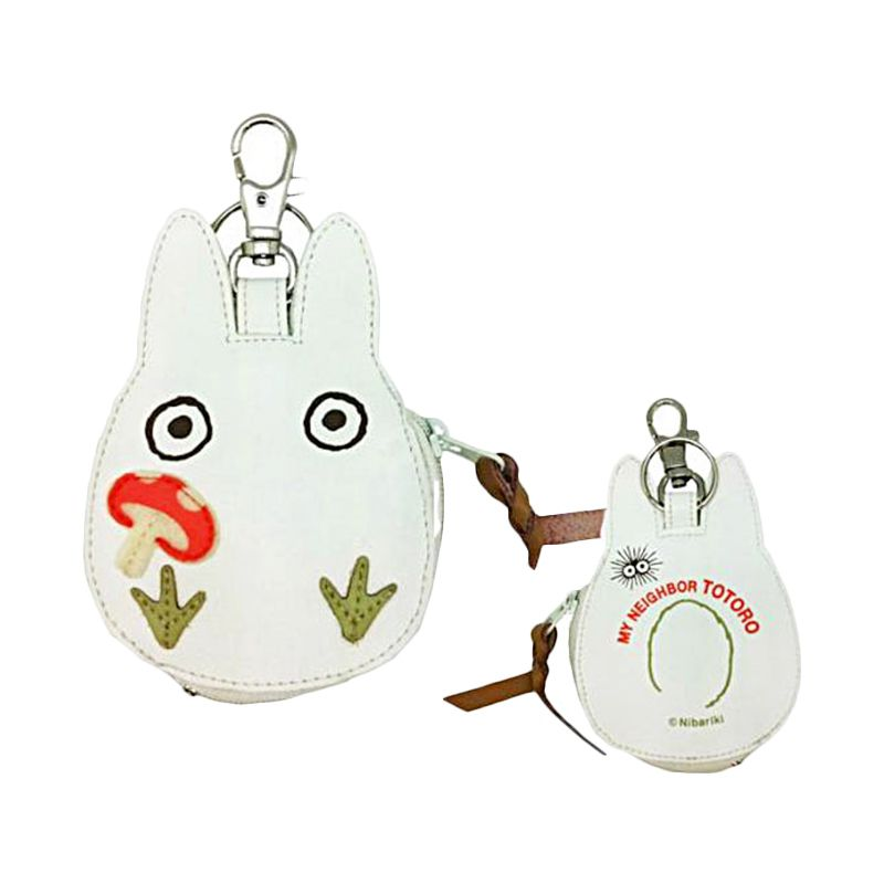 KadoUnik Studio Ghibli My Neighbor Totoro Body Shaped Pouch Small Dompet Koin