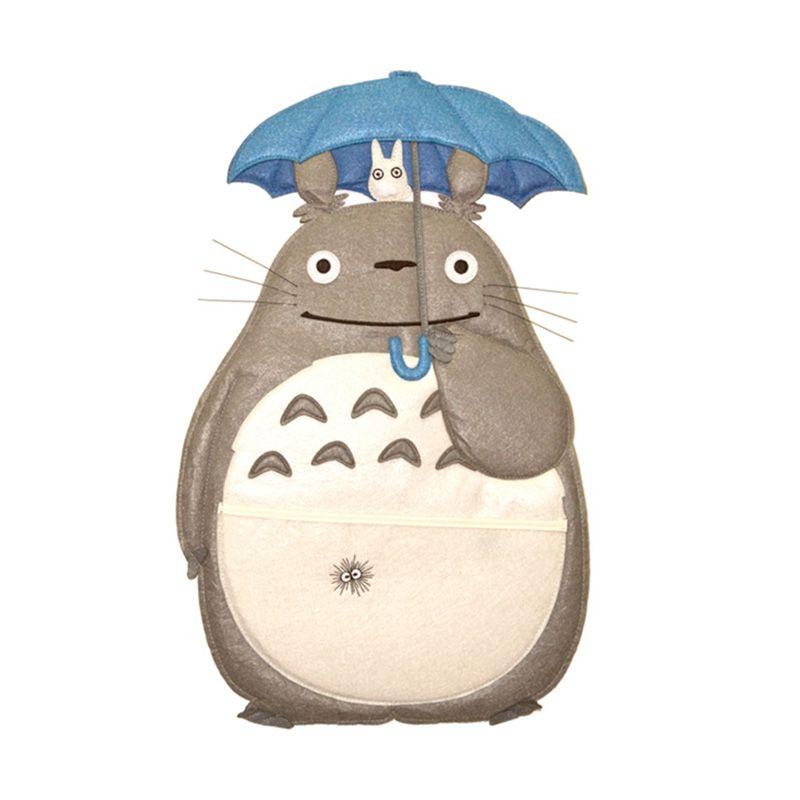 KadoUnik Studio Ghibli My Neighbor Totoro Pouch Kantong Dinding Serbaguna