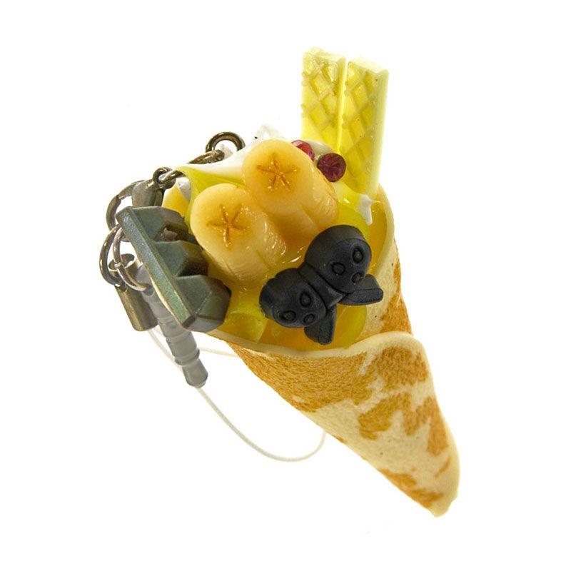 Kadounik Tasty Dessert Crepe Banana Earphone Plug