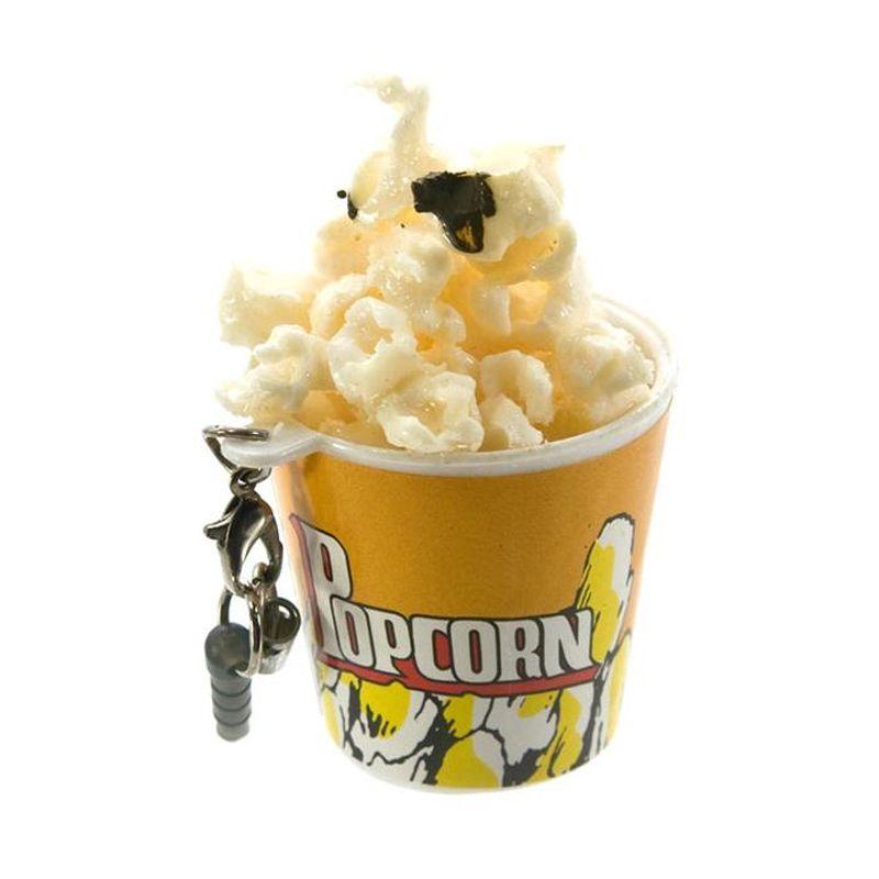 Kadounik Tasty Dessert Earphone Jack Cover [Pop Corn/Saltiness]