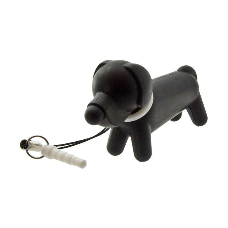Kadounik TOUCH DOG Labrador Retriever White Earphone Plug with Touch Pen