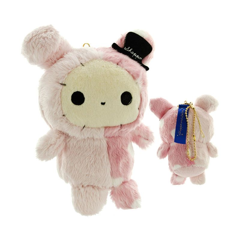 San-X Sentimental Circus Shappo and Starlight Spica Cleaner Plush Pink Mainan Anak