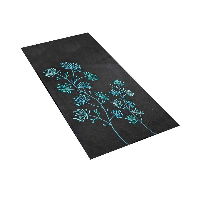 Kainkain Black Soka Table Runner
