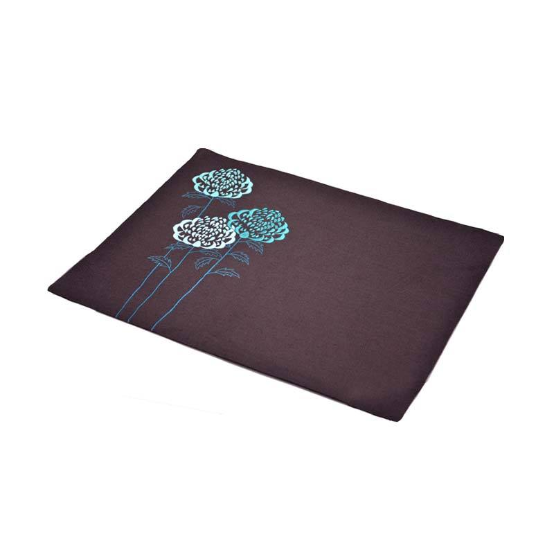 Kainkain Brown Waratah Placemats - Set of 4