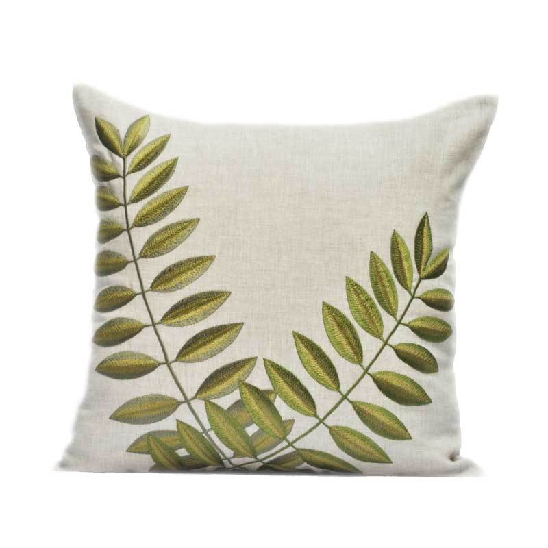 Kainkain Linen Acacia Pillow Cover