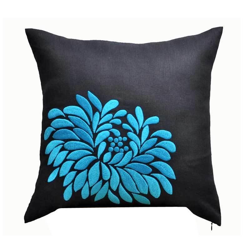 Kainkain Black Dahlia Pillow Cover