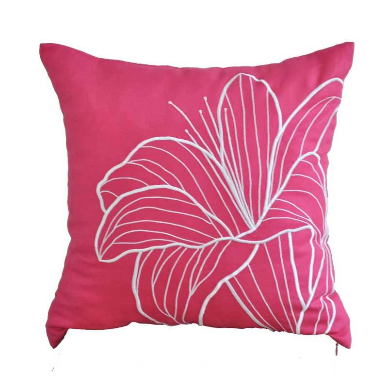 Kainkain Fuchsia Lily Pillow Cover