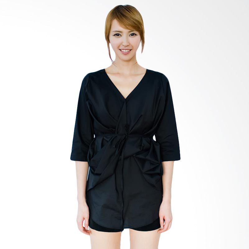 Kakuu Basic Dress Belt Set Waist Tuck Black