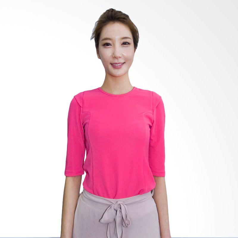 Kakuu Basic Shirt Shoulder Pad Deep Pink