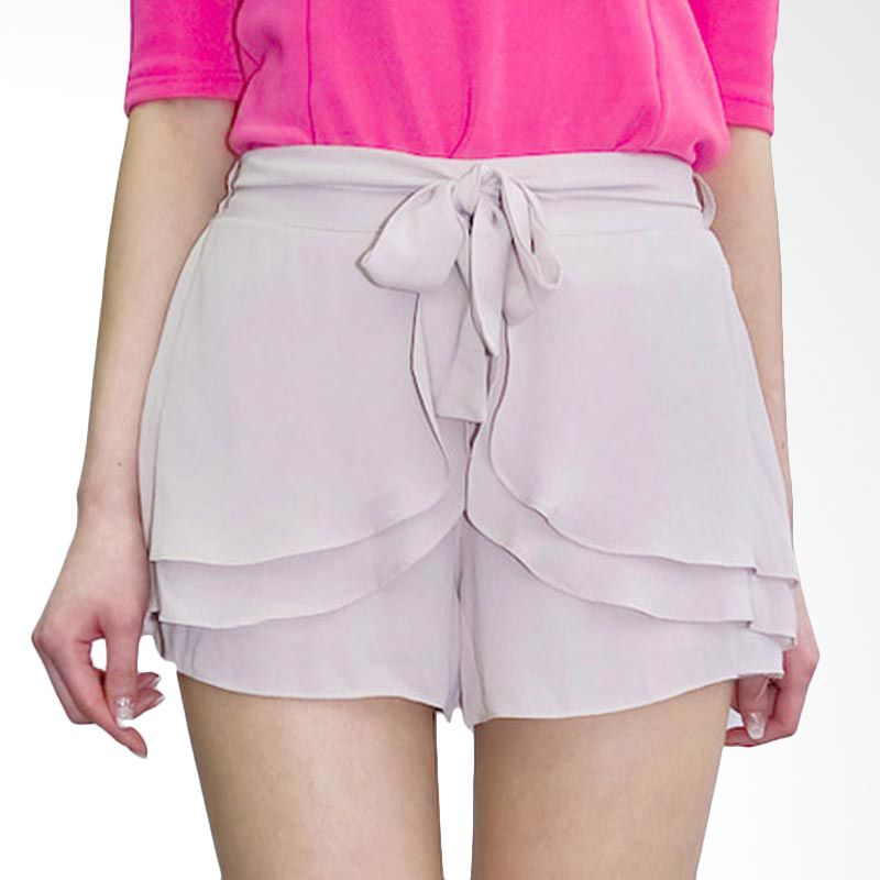 Kakuu Basic Short Pants Stack Beige