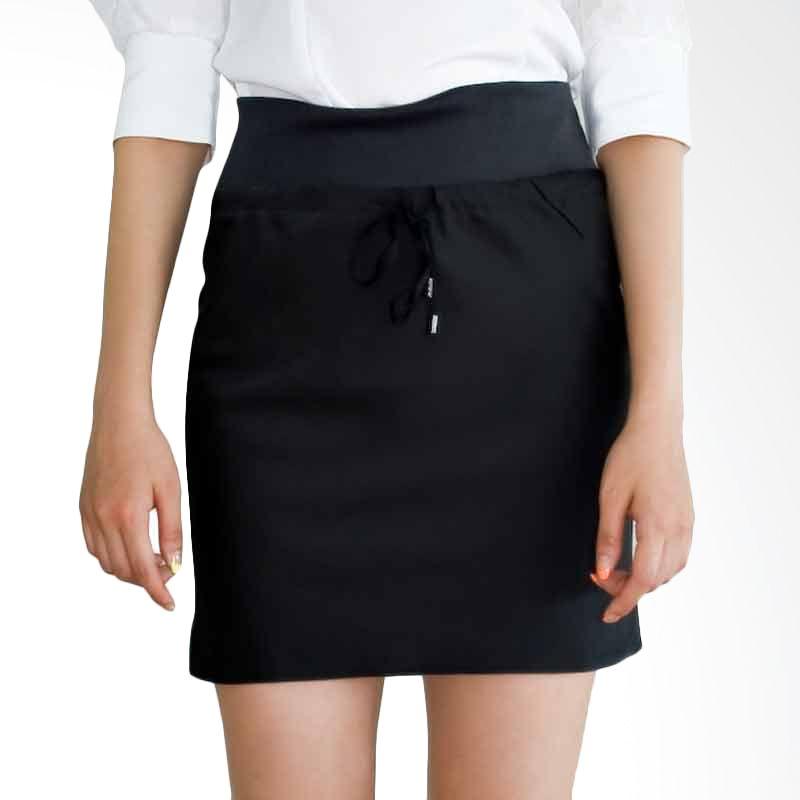 Kakuu Basic Rok Diagonal Stitch Semi Gloss Black
