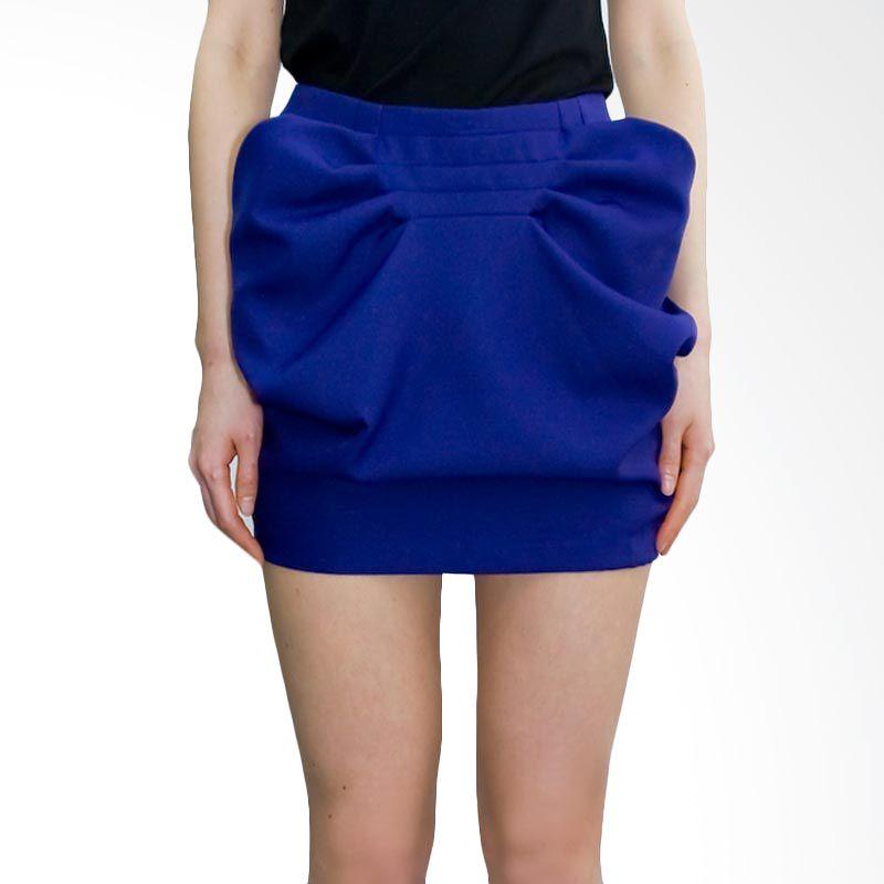 Kakuu Basic Skirt Pocket Design Purple