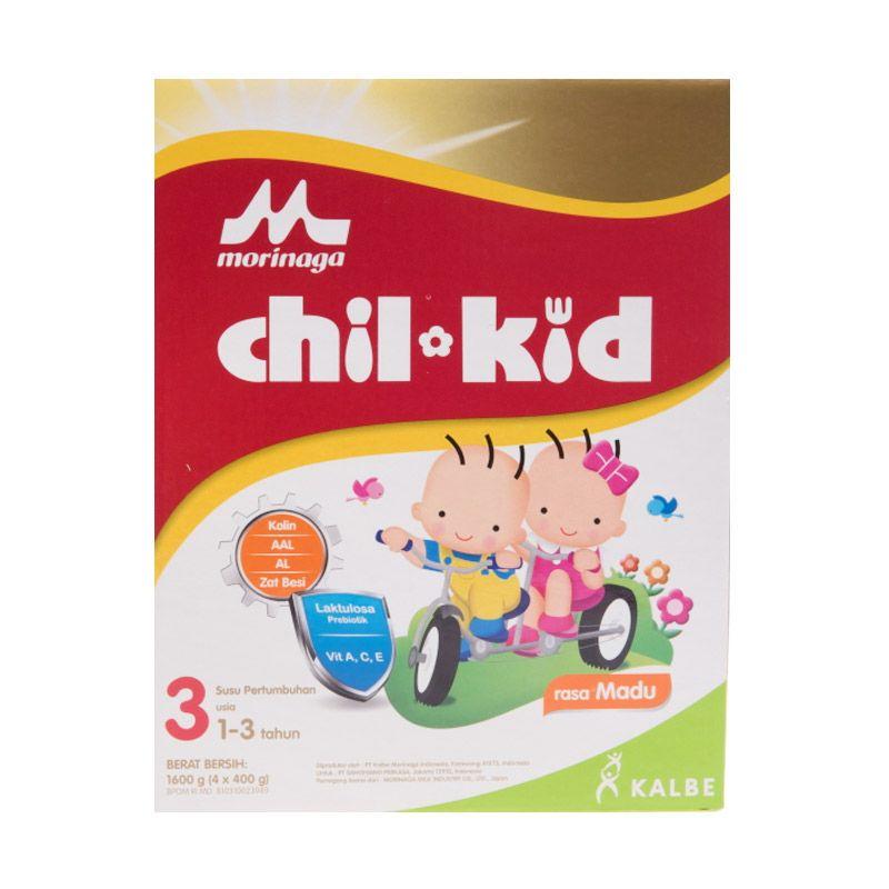 Morinaga Chil Kid 3 Madu Susu Formula 1600gr