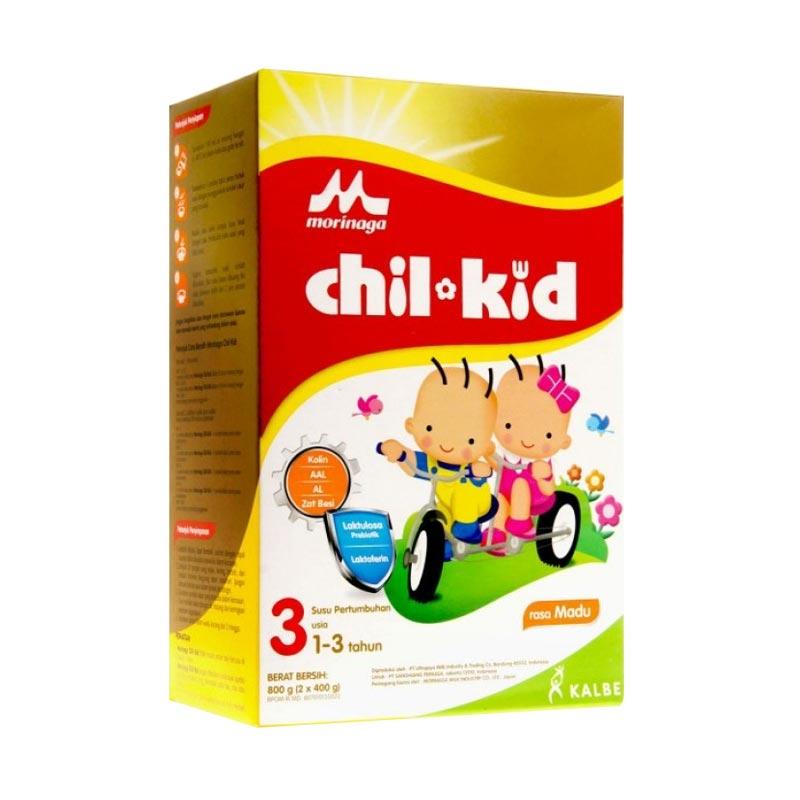 Jual Morinaga Chilkid Box Madu [ 3 BOX / 800 g] Online