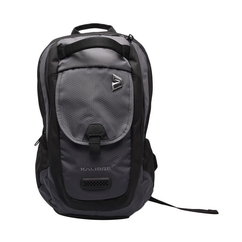 Kalibre Hexavro 910319-020 Dark Grey Black Tas Ransel
