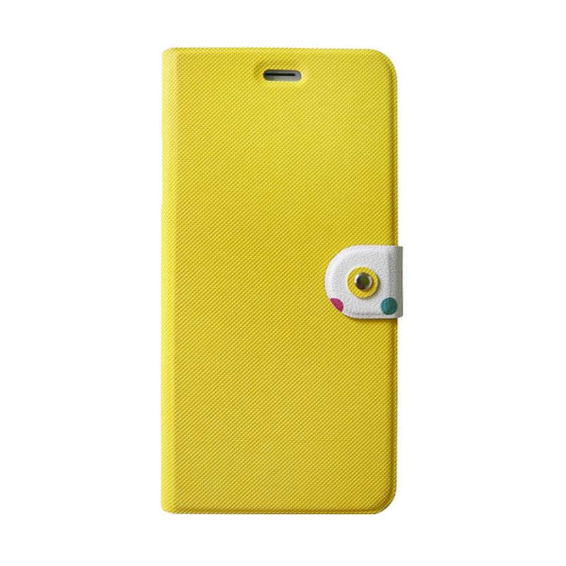 Kalo Classical Kuning Flip Cover Casing for iPhone 6
