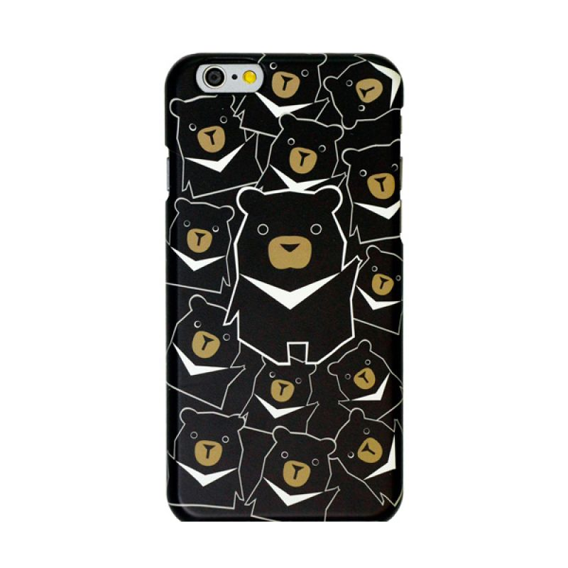Kalo Colored Drawing Bear Colorful Casing for iPhone 6 Plus