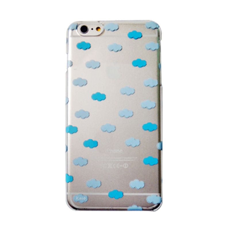 Kalo Colored Drawing Cloud Colorful Casing for iPhone 6 Plus