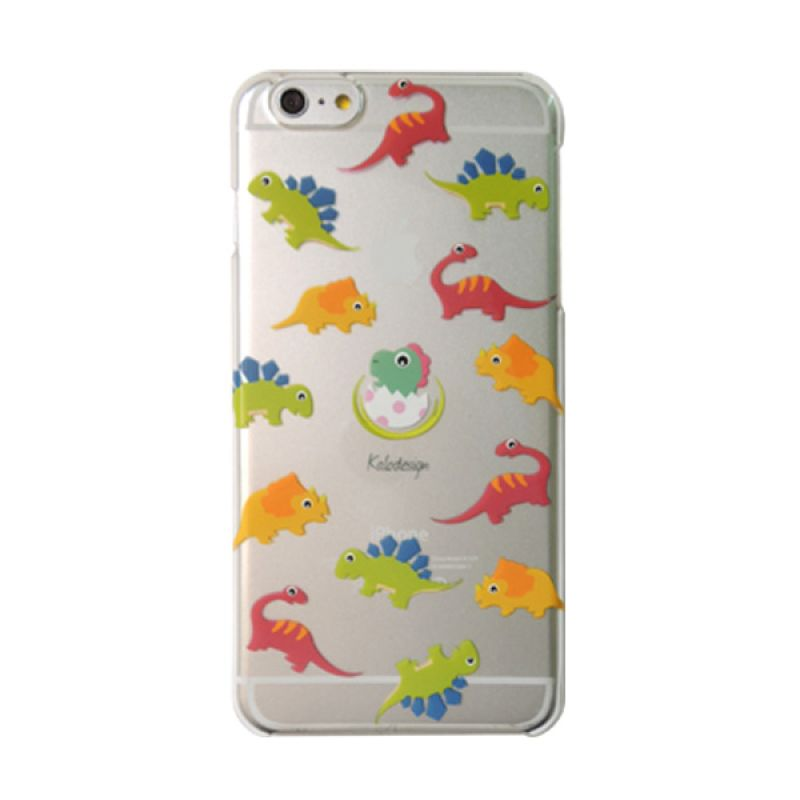 Kalo Colored Drawing Dinosaurus Colorful Casing for iPhone 6 Plus