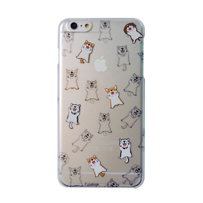 Kalo Colored Drawing Dog Colorful Casing for iPhone 6 Plus