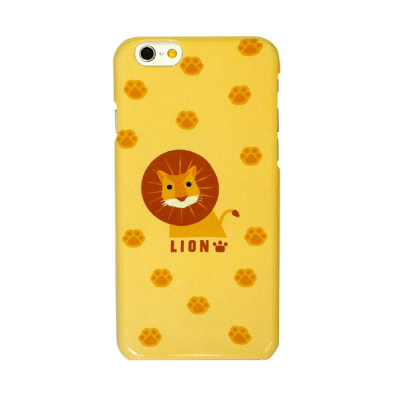 Kalo Colored Drawing Lion Colorful Casing for iPhone 6