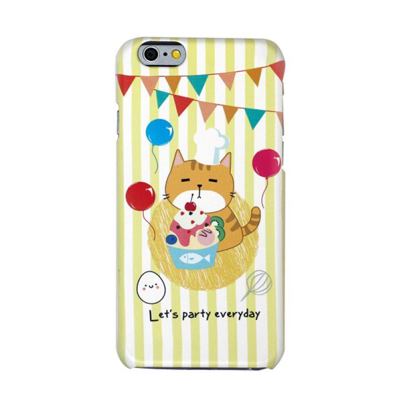 Kalo Colored Drawing Party Colorful Casing for iPhone 6