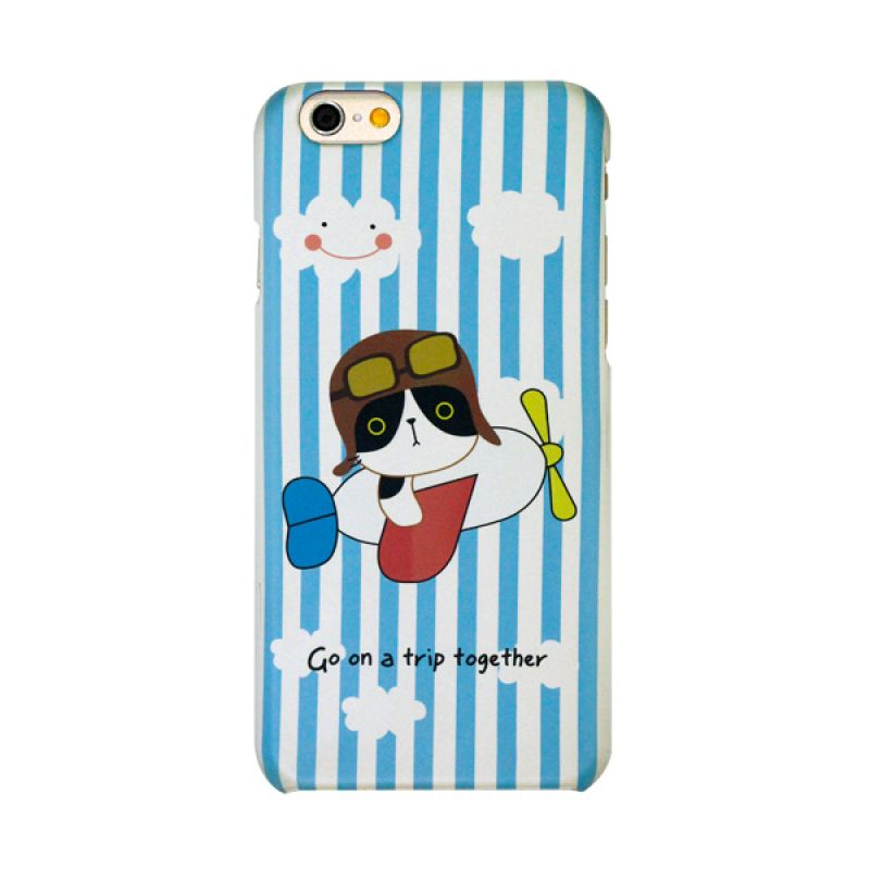 Kalo Colored Drawing Trip Perjalanan Colorful Casing for iPhone 6
