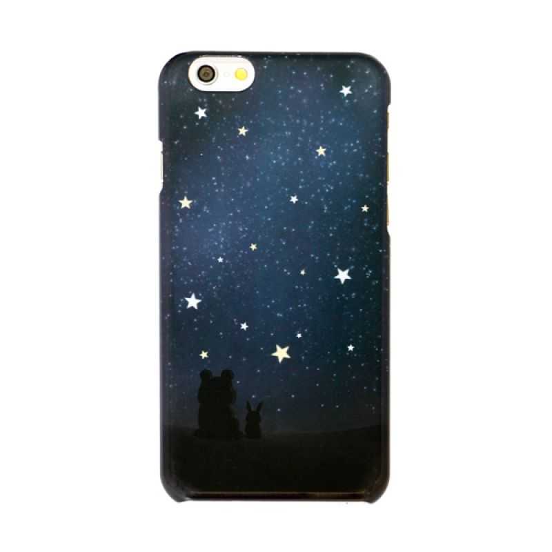 Kalo Colored Drawing Star Colorful Casing for iPhone 6