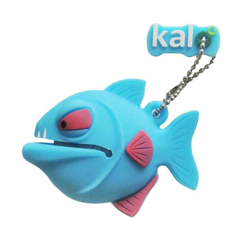 Kalo Creative Design Fish Blue USB Flashdisk [8 GB]
