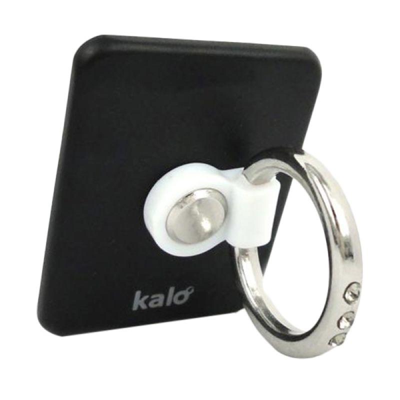 Kalo Creative Design Hitam Hand Linker Cincin Handphone
