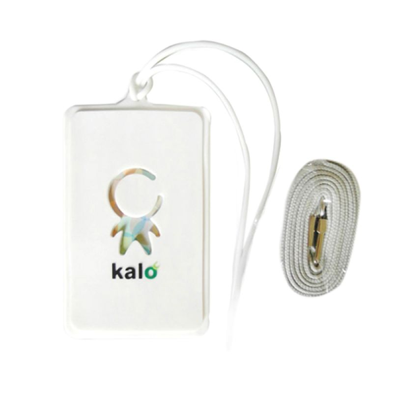 Kalo Creative Design Putih Label Koper