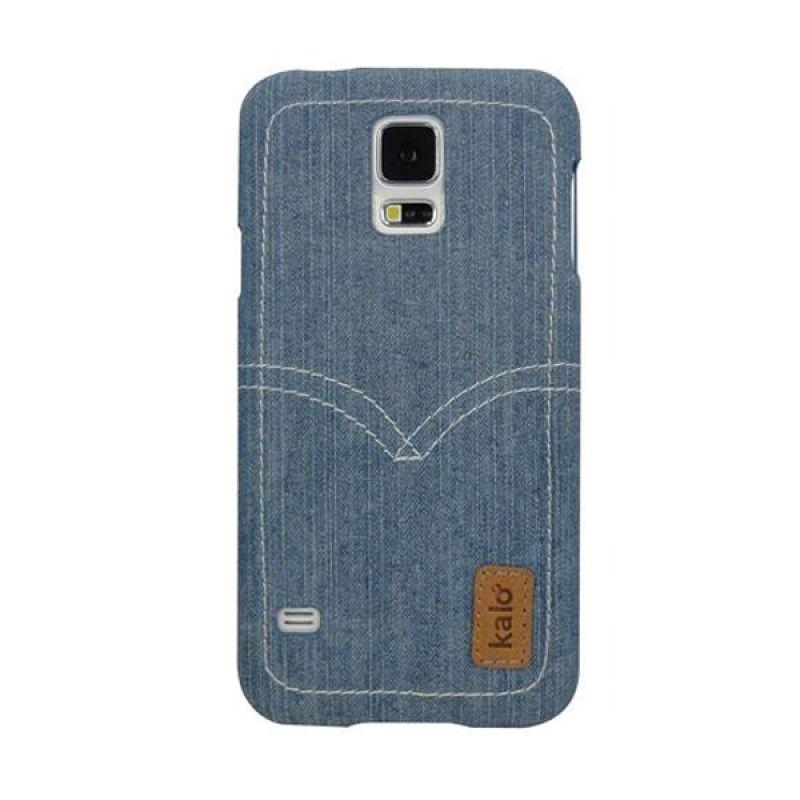 Kalo Denim Biru Muda Casing for Galaxy S5