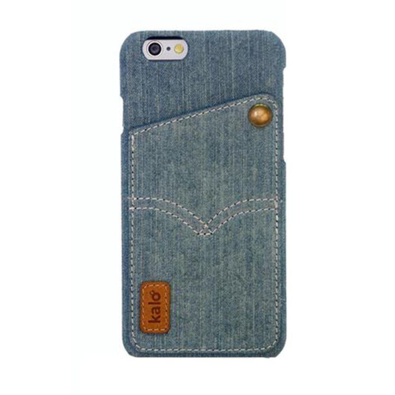 Kalo Denim Biru Muda Casing for iPhone 6 Plus