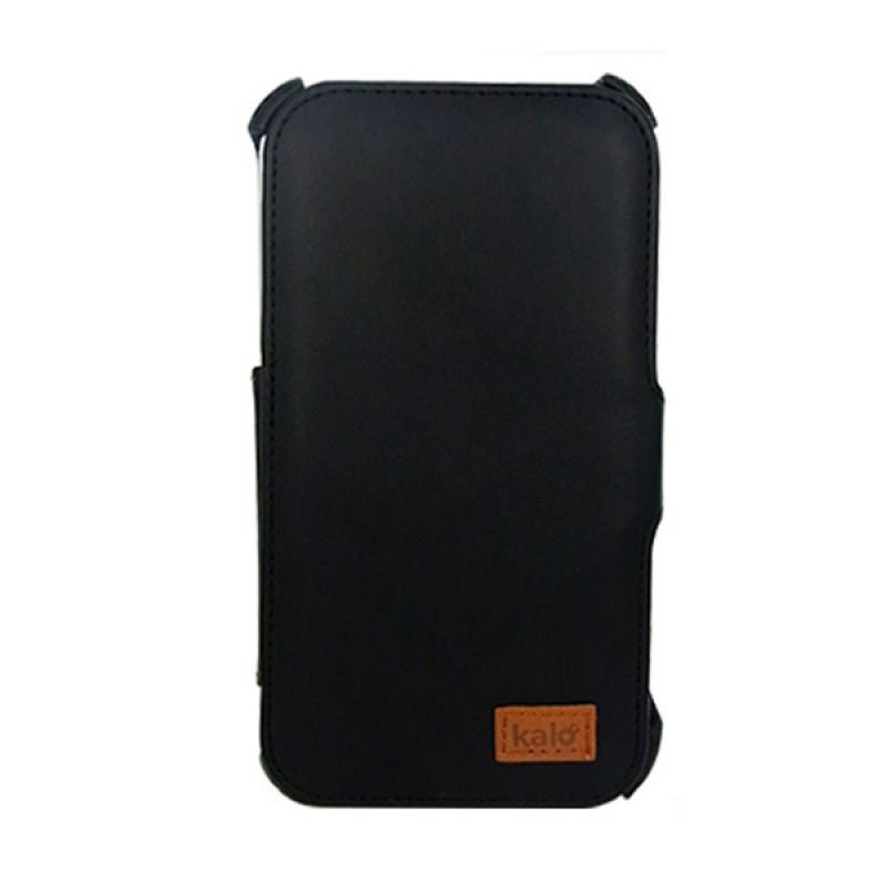 Kalo Leather Hitam Casing for Galaxy Note 2