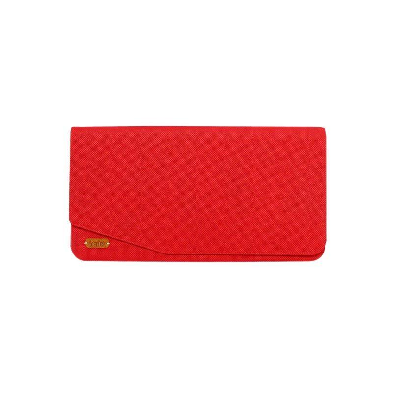 Kalo Wallet Merah Casing For iPhone 6