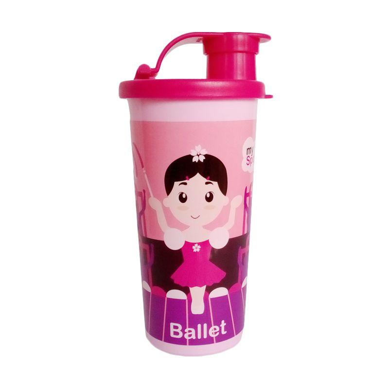 MOORLIFE My Sport Pink Botol Minum Anak [280 mL]