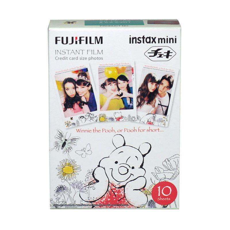 Fujifilm Instax Refill Mini Film New Pooh Kertas Foto