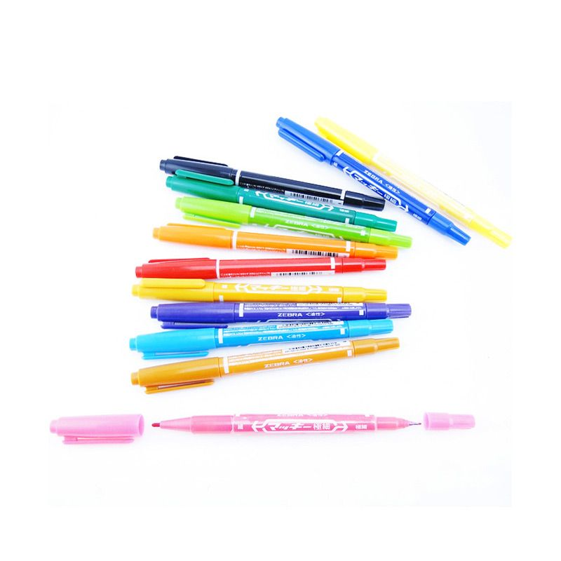Zebra Set Colorfull Pen [12pcs]