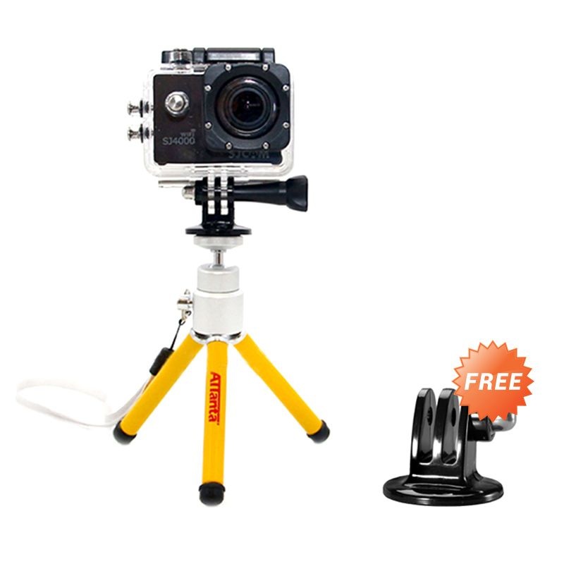 Attanta M-103A Kuning Mini Tripod