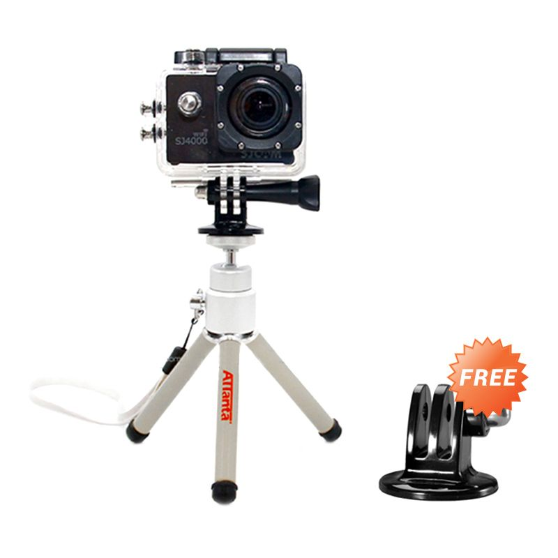 Attanta M-103A Silver Mini Tripod