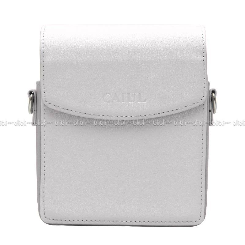 Caiul Instax Leather Bag Instax Share SP-1 Putih