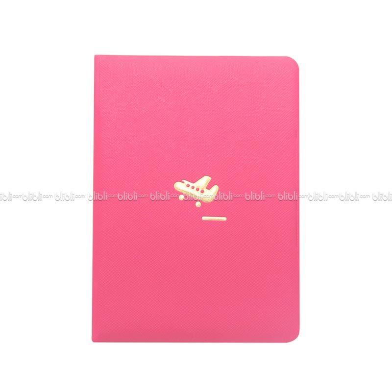 Colorful Korea Passport Cover Pink Muda