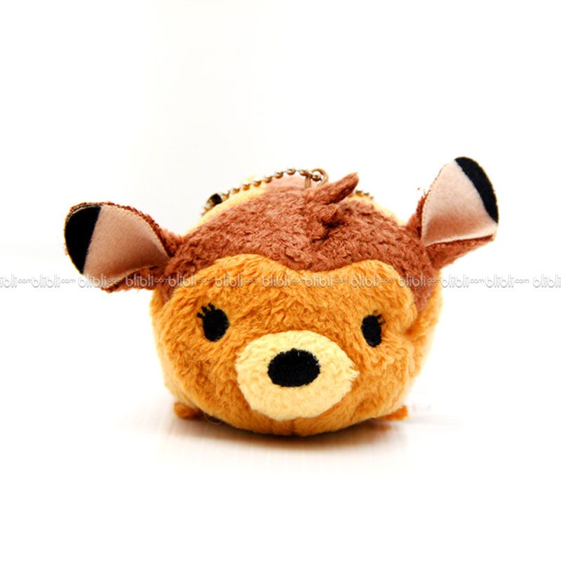 Disney Tsumtsum Mini Bambi With Tags Boneka