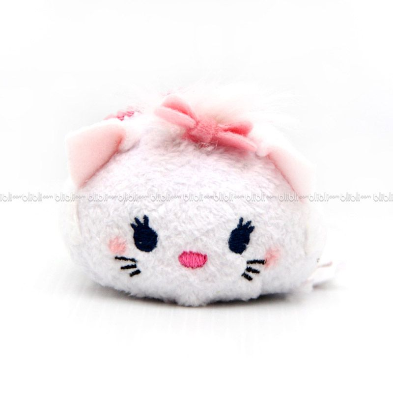 Disney Tsumtsum Mini Marie Cat With Tags Boneka