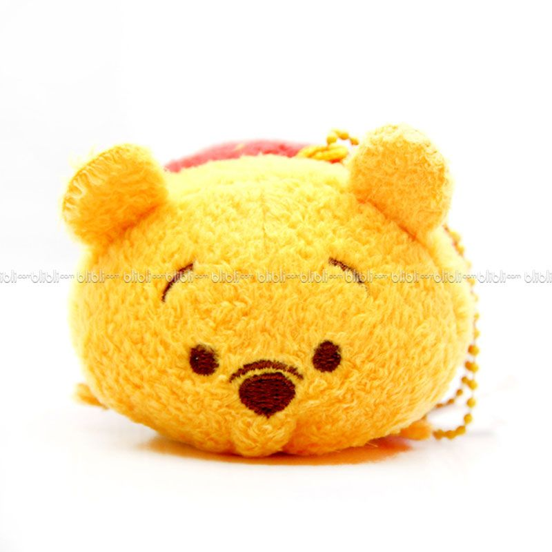 Disney Tsumtsum Mini Pooh With Tags Boneka