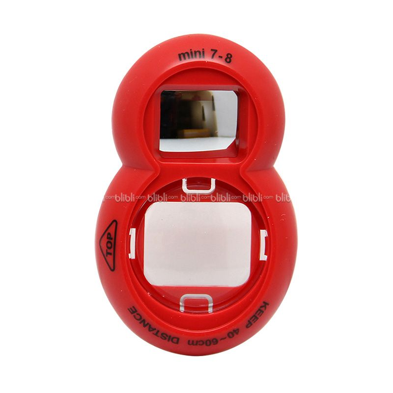 Fujifilm Merah Selfie Mirror Lens Frame for Instax 7 or 8s