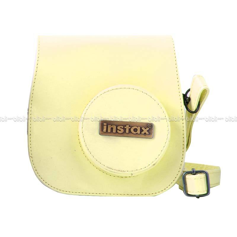 Instax Leather Bag 8s Kuning