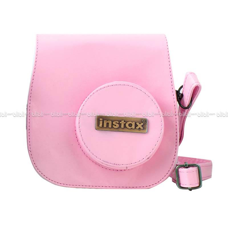 Instax Leather Bag 8s Pink