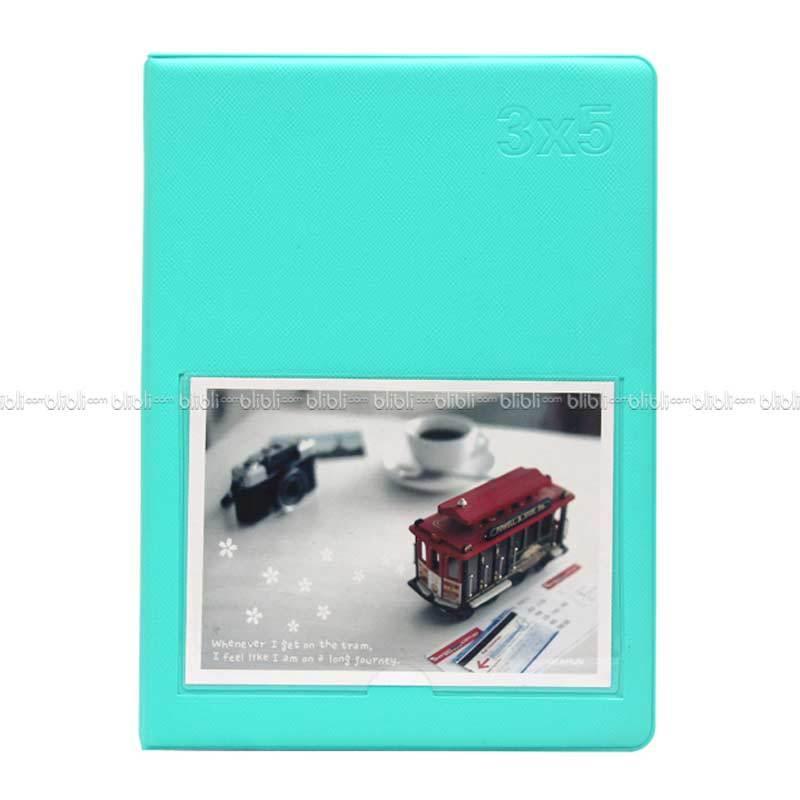 Polaroid Colorful Korea 3x5 (3R) Album Foto Hijau